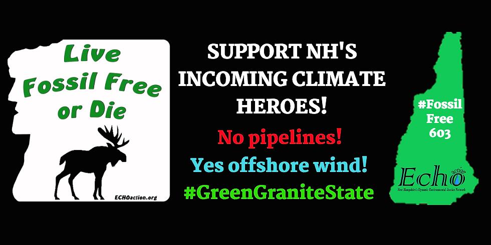 Inauguration Day: Celebrate & Create Legislative Climate Heroes!