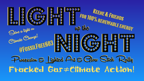 Light Up The Night: Lighted Art & Glow Rally For Climate Action