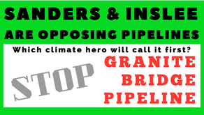 NH activists wait for Granite Bridge opposition as Sanders & Inslee oppose Lines 3 & 5