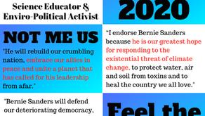 NH environmental leaders endorse Bernie Sanders #NotMeUs #NHpolitics