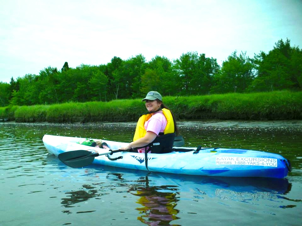 Kayaking in the Estuary
