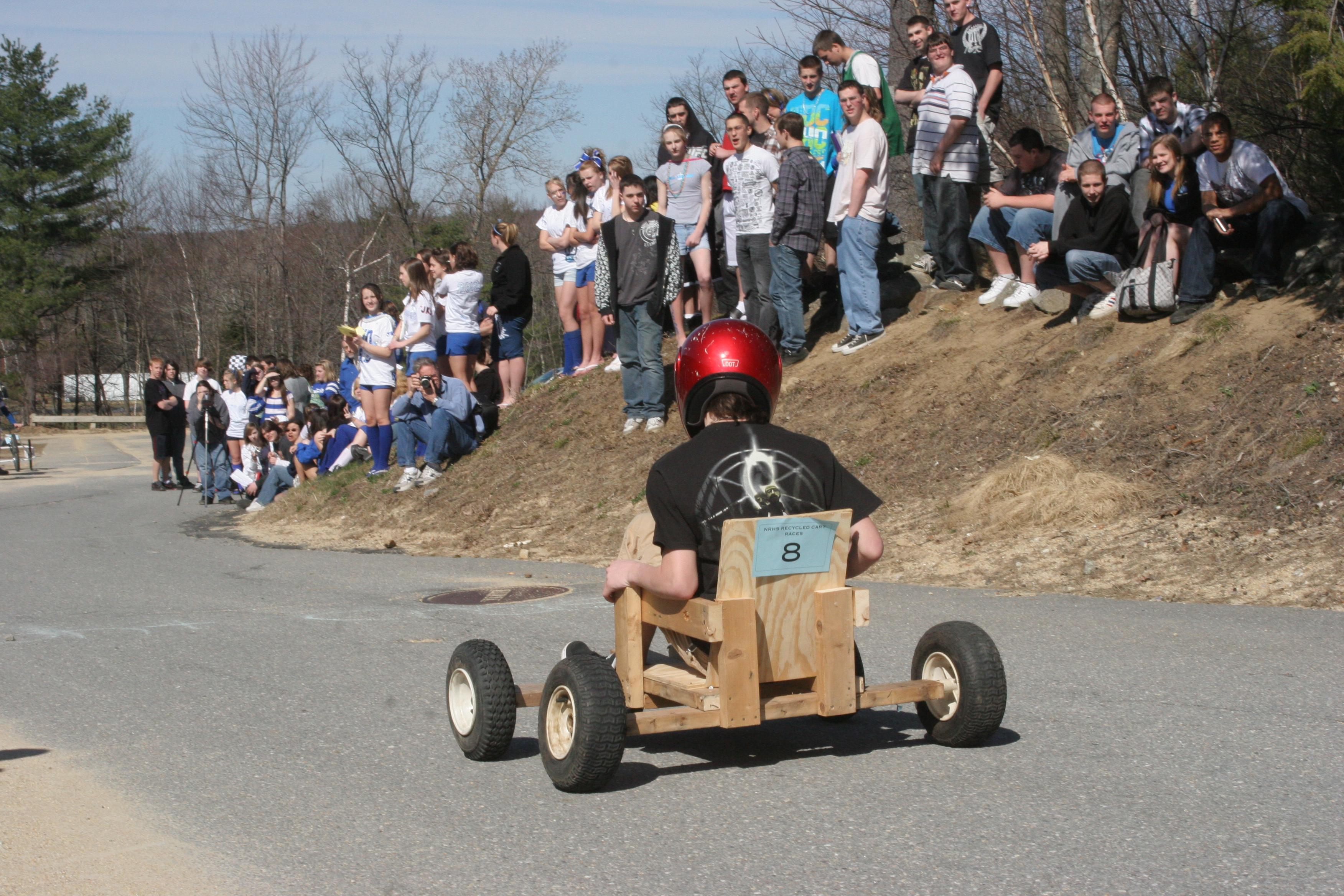 Recycled Cart Races