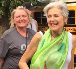Anne with Jill Stein