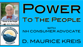Power To The People: The PUC & Fossil Fuel Expansion with D. Maurice Kreis and Discussion Panel