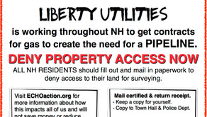 Granite Staters urged to post their property and prepare to deny access to pipeline route surveyors