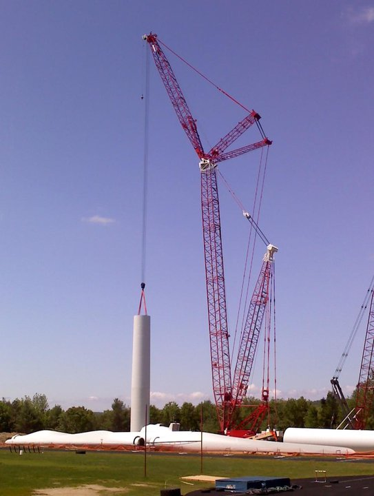 Wind Turbine Construction