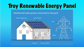 Renewable Energy Panel in Troy!