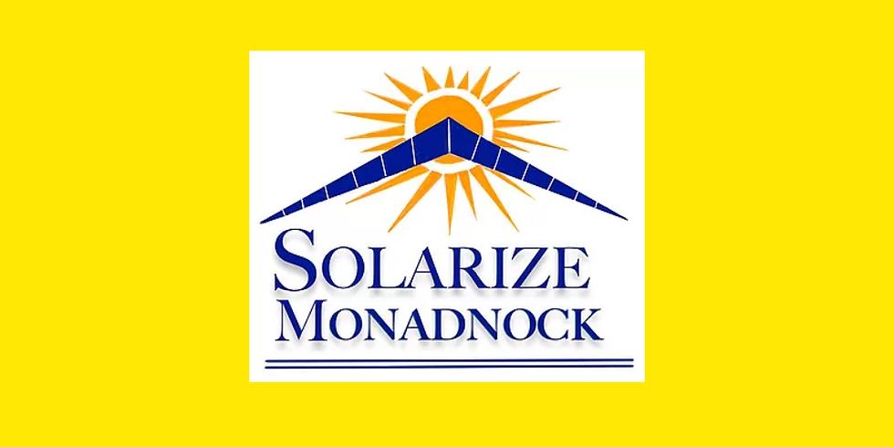 Solarize Monadnock Campaign Launch