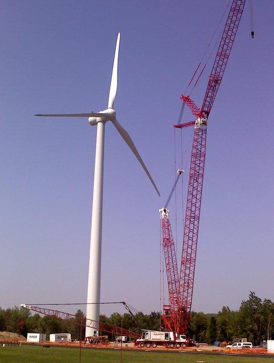 Completed Wind Turbine