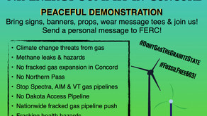 Peaceful Demonstration at NH Energy Summit - FERC Commissioner to speak