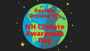 """HB 1226 - Declare October 1st """"NH Climate Awareness Day"""""""
