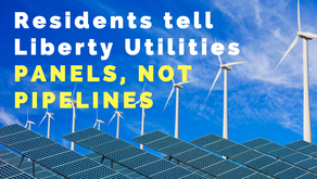 Liberty Utilities sells hard, but residents say panels, not pipelines
