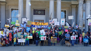 Offshore Wind Rally at the NH State House on Earth Day