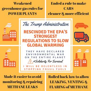 Trump Administration Rescinds EPA Regulations