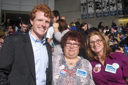 Laura with Joseph P. Kennedy