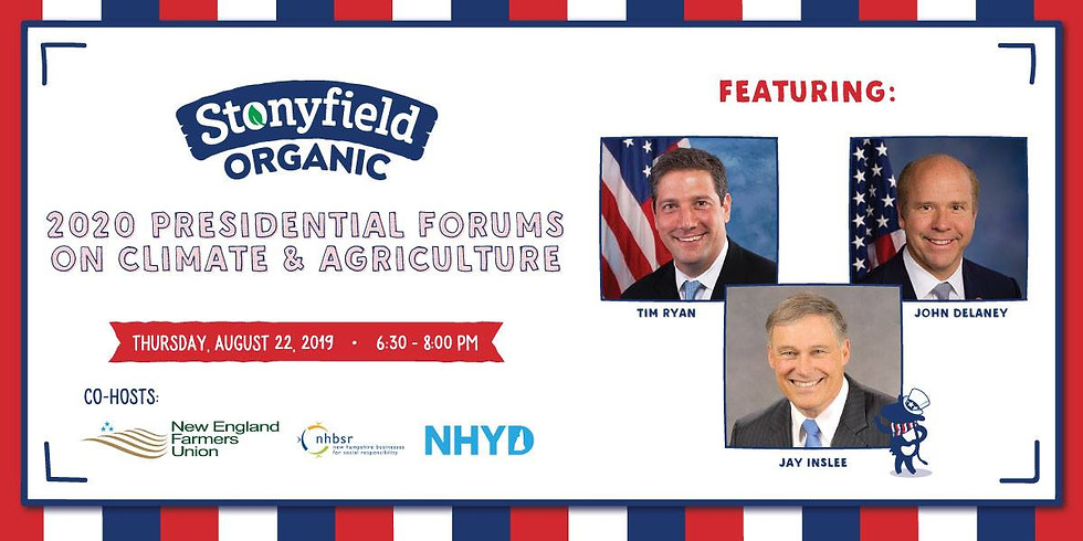 Presidential Candidate Forum on Climate and Agriculture