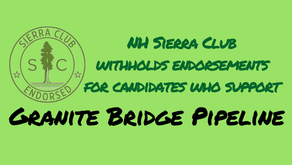 NH Sierra Club endorsements withheld from Granite Bridge supporters