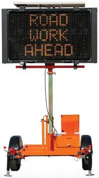 Mini Full Matrix 5000, Solar Assistd Message Center Board, Message Board, Work Area Protection