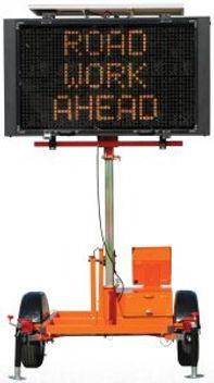 Mini Full Matrix 5000, Solar Assistd Message Center Board, Message Board, Work Area Protection