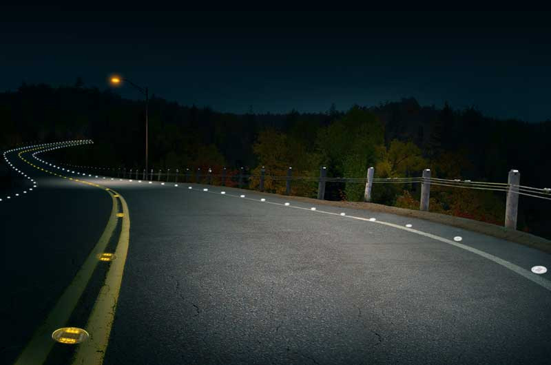 Darkened Road
