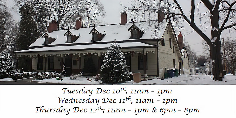 Holiday Open House Week 1: Homestead & Gift Shop Celebrate the Holidays
