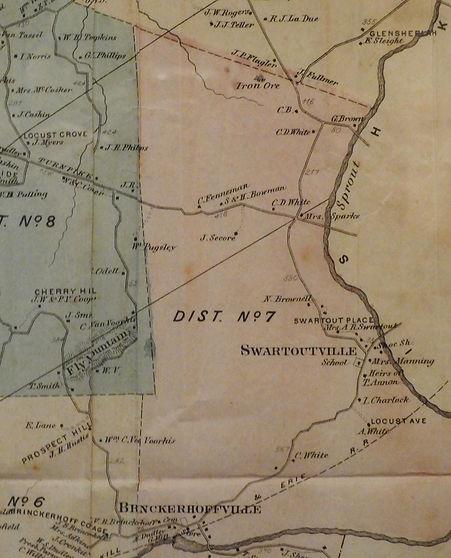 Swartwoutville 1867 Fishkill map.JPG