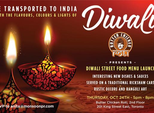 Diwali Pop-up & Mumbai Streetfood hits Toronto this weekend