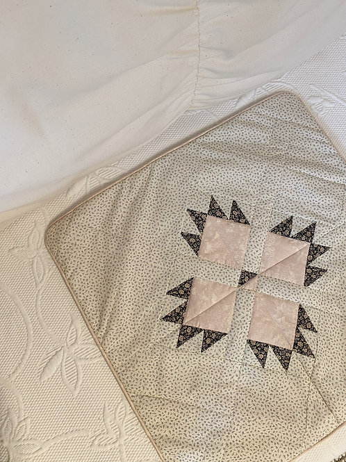 Ditsy Floral Patchwork Quilt Cushion Cover - 50X50cm