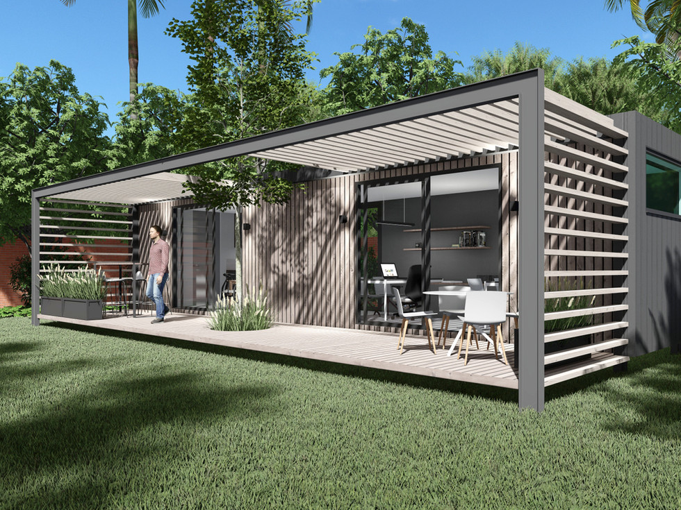12m Container Office