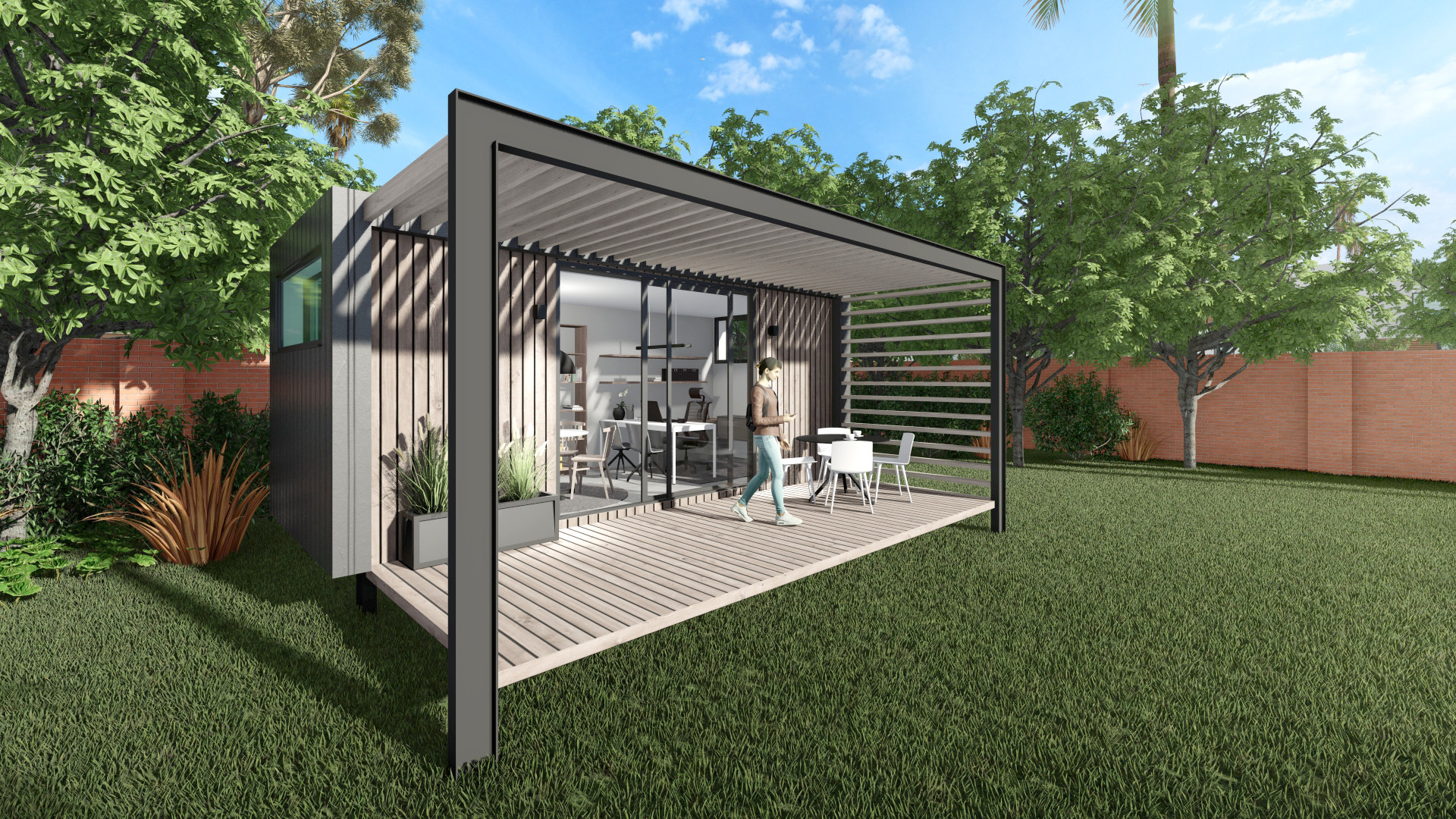 6m Container Office