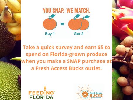 Fresh Access Bucks Shopper Online Survey $5 Coupon.