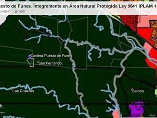 Sierras Chicas: solicitan rechazo a cantera Puesto de Funes