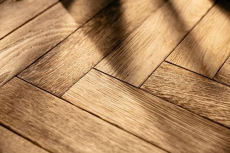 Fußbodenbelag Holz