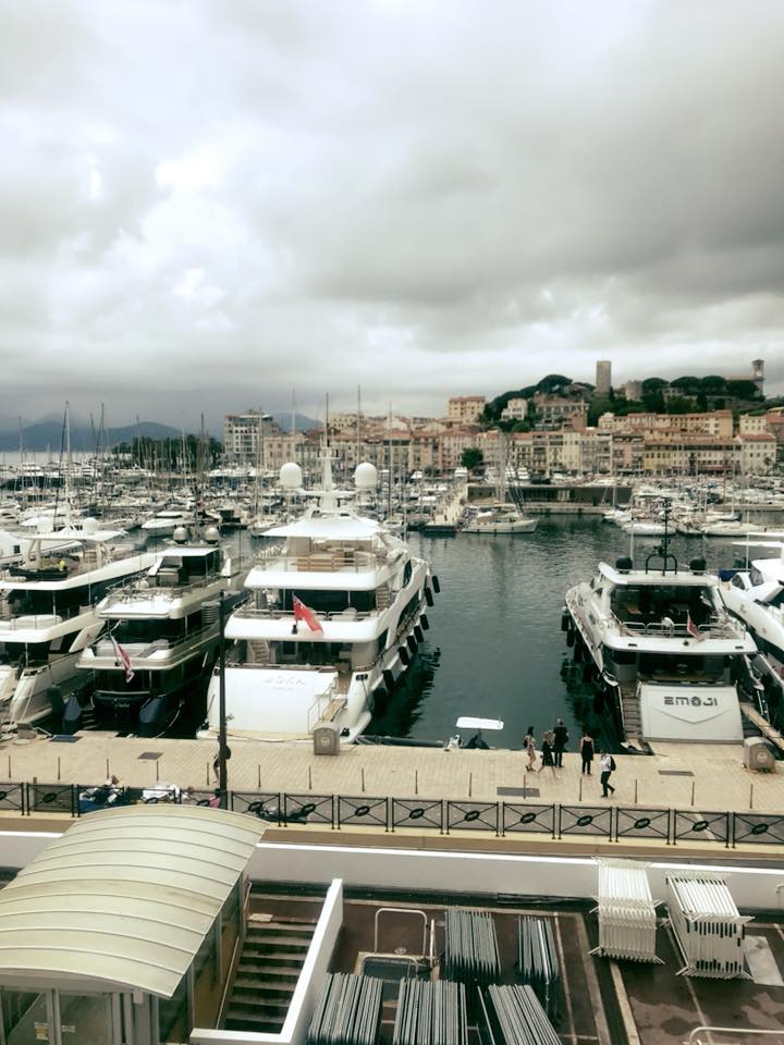 Perfect view in Cannes
