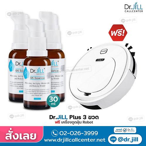 Dr.JiLL3ขวดฟรีเครื่องดูดฝุ่นRobot
