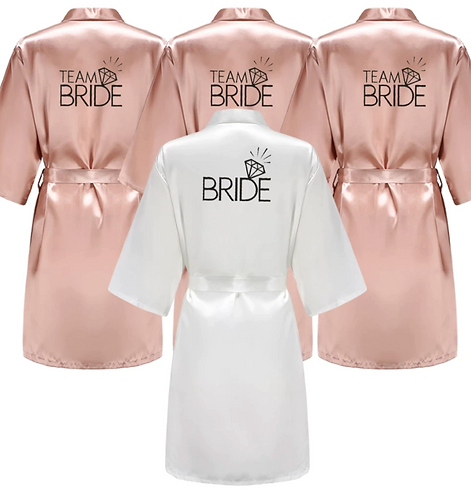 team bride robes