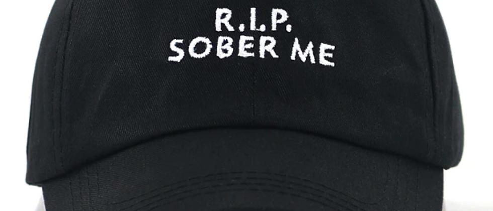 RIP sober me hat