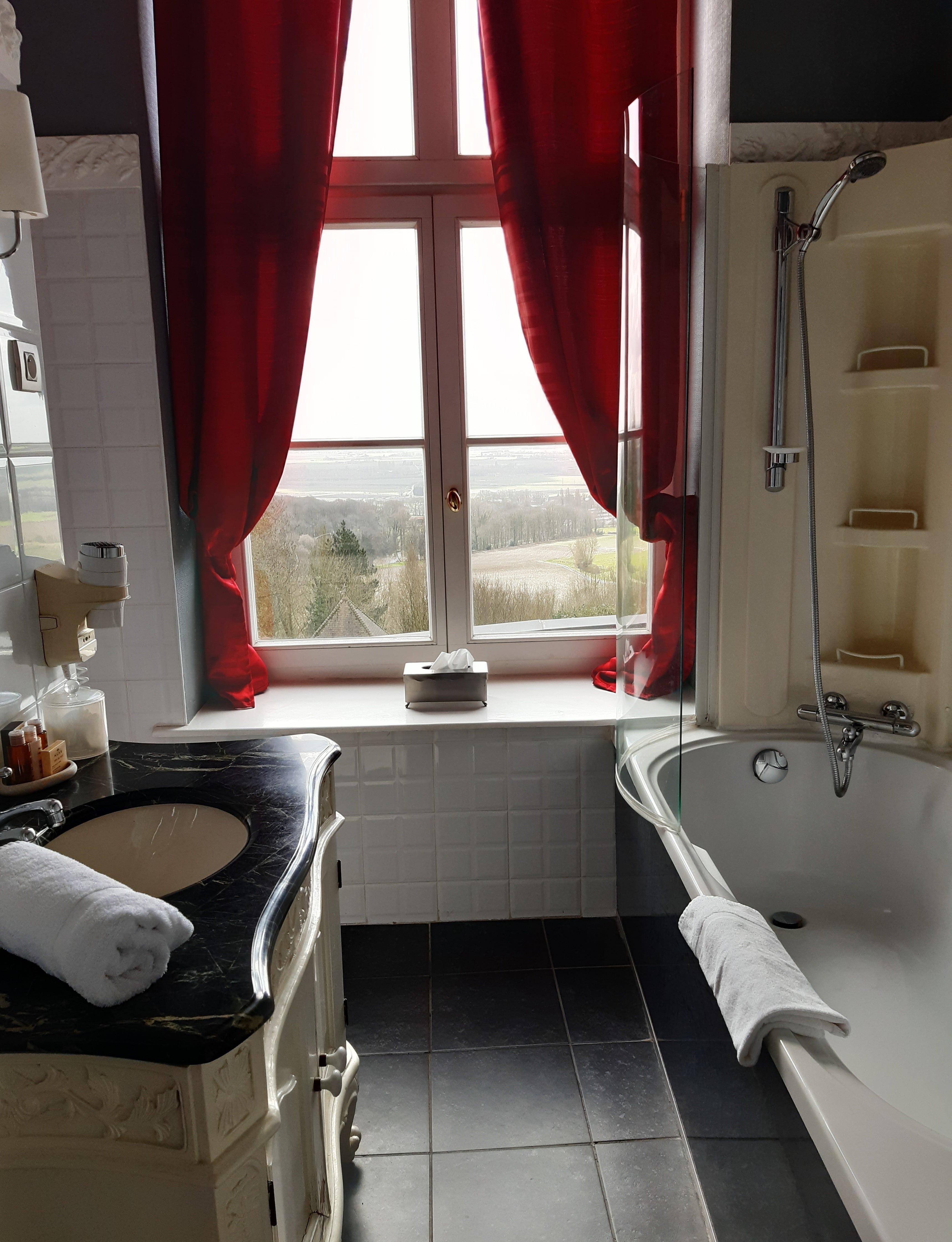 Salle de bain-chambre pompadour-schoebeq