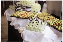 Buffet cocktail Chatellerie de schoebeque