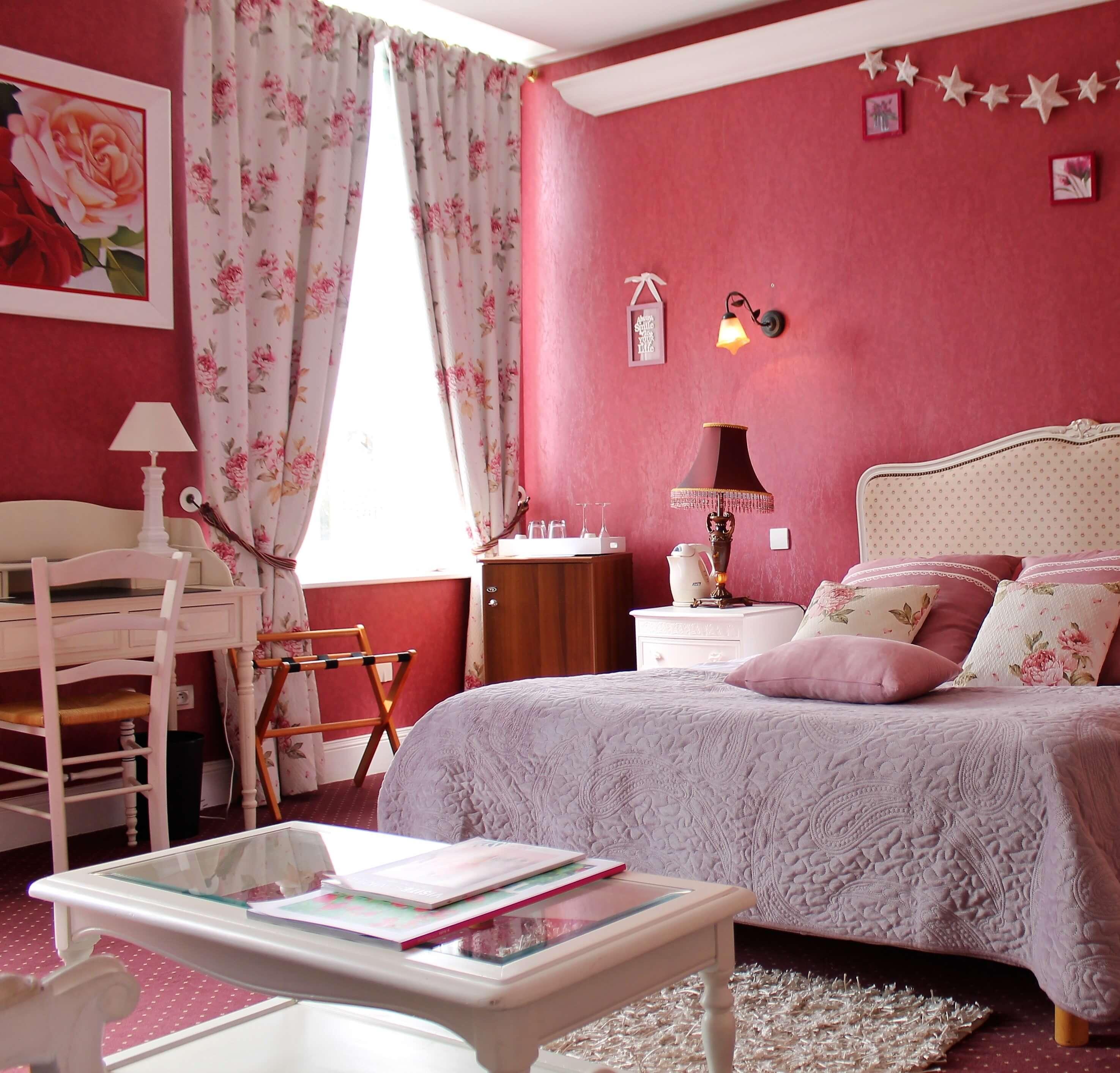 Hotel chambre elegance la vie en rose