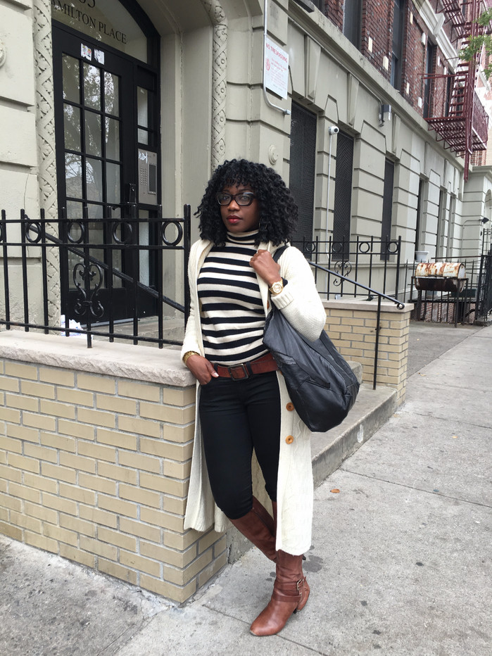 The Go-To Look: Black & Ivory
