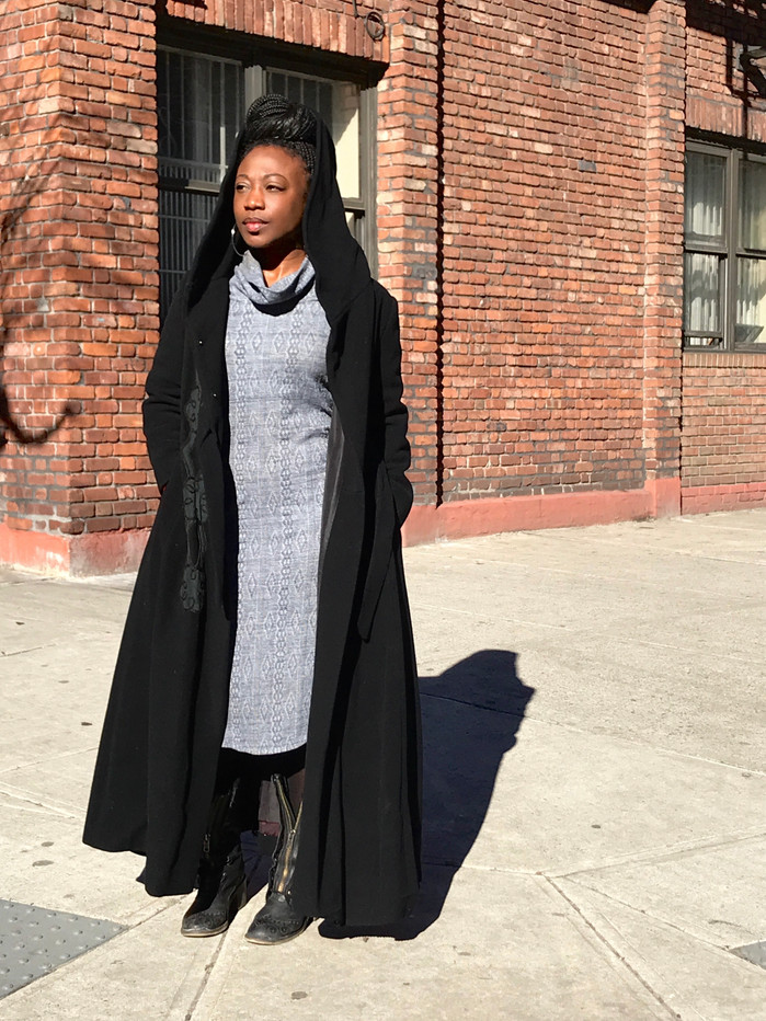 To be Young, Gifted, and Black : Fly Black Women in Dynamic Black Coats