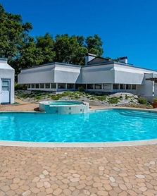 Poolside Mansion