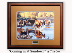 """Coming in at  Sundown"" by Tim Cox"