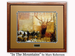 """ In the Mountains"" by Mary Roberson"