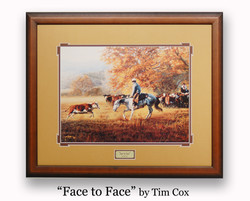 """ Face to Face "" by Tim Cox"