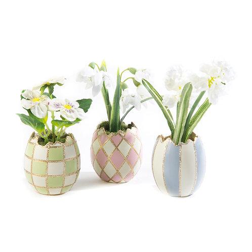pastel egg bouquet - set of 3