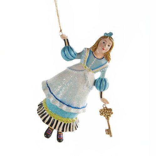 Wonderland Alice Ornament