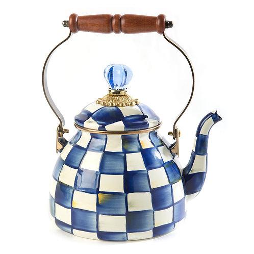 royal check tea kettle - 2 quart