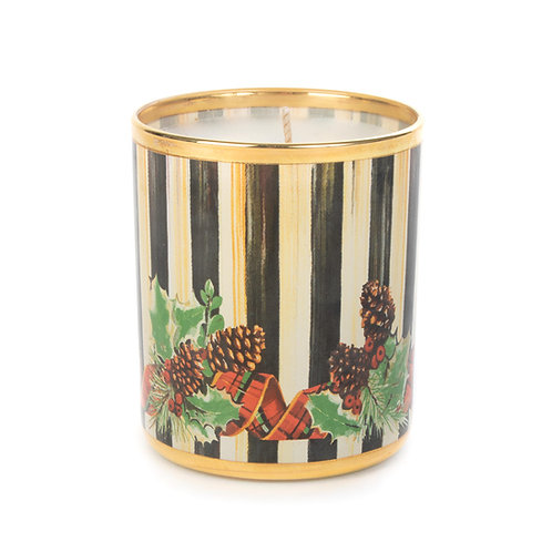 evergreen scented candle-small